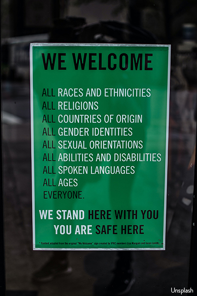 We Welcome...